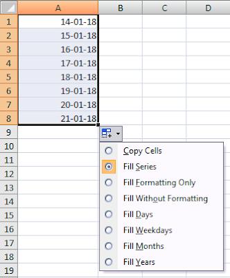 Autofill Dates & Times