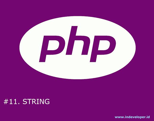 Tutorial PHP - String pada PHP