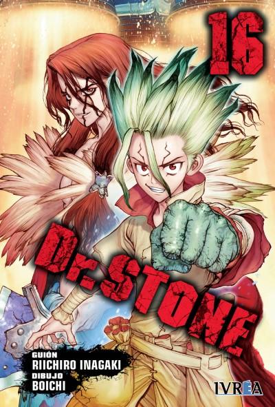 Reseña de Dr. STONE vol. 16 de Riichiro Inagaki y Boichi - Ivrea