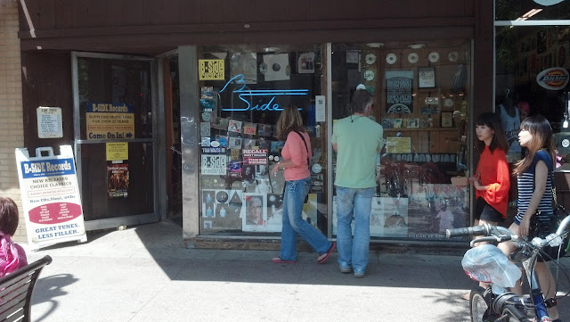 B-Side Madison Wisconsin - Store Front