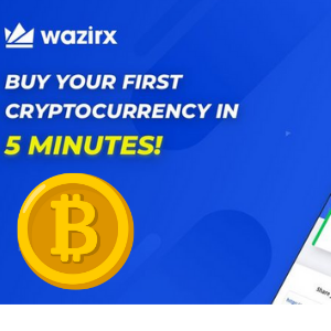 Buy Your First Bitcoin within 5 with WazirX