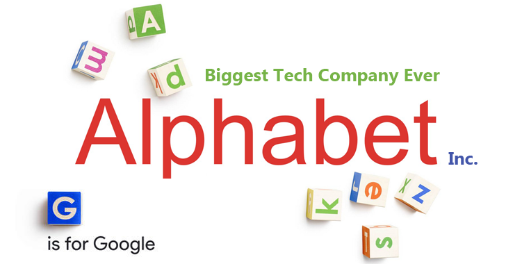 A New Company Called Alphabet Now Owns Google; Sundar Pichai Becomes New CEO
