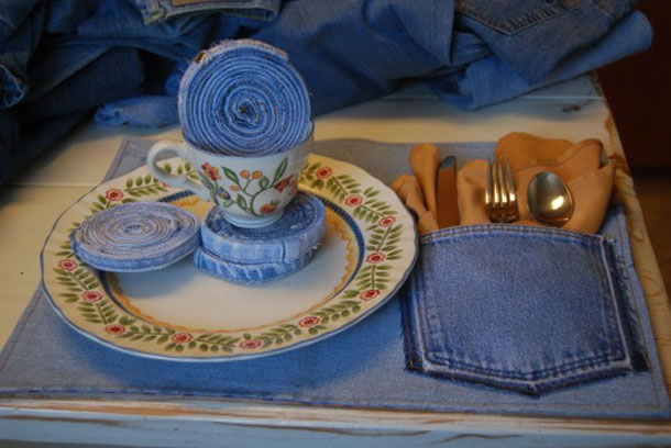 Amazing 10 Things Made From Recycled Blue Jeans