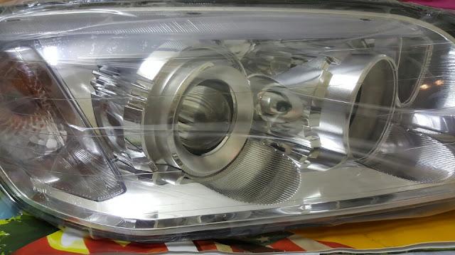 Đèn pha xe Captiva chính hãng GM
