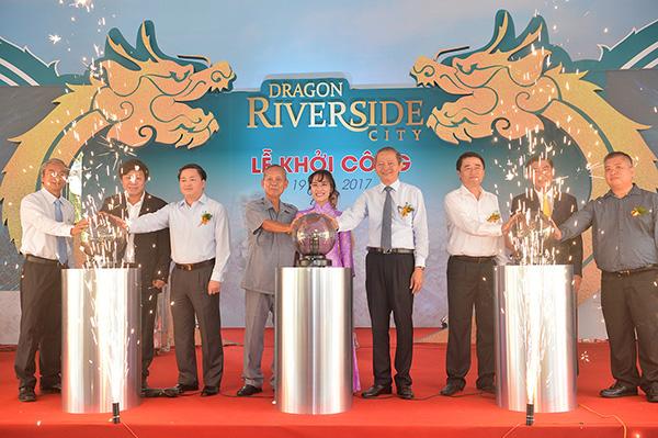 Chủ tịch Nguyễn Thị Phương Thảo tham gia lễ khởi công Dragon Riverside City