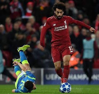 نتيجه مباراه ليفربول ومانشستر سيتي اليوم 3-1-2019 في الدوري الانجليزي انتهت بفوز مانشستر سيتي 2-1
