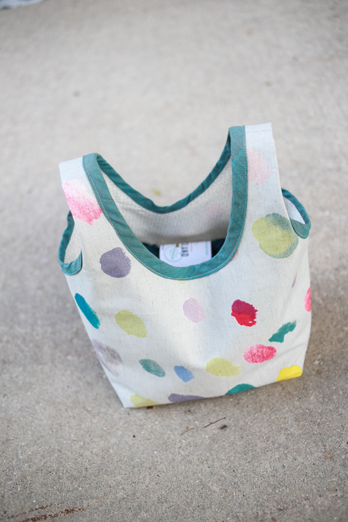 Nani Iro Canvas Stowe Bag | InColorOrder.com