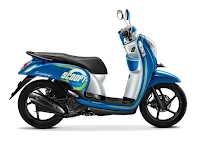 Honda Scoopy eSP Sporty Biru