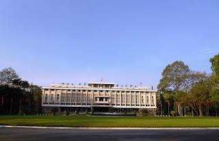 reunification palace saigon vietnam