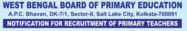 WB Primary TET Teacher recruitment 2021