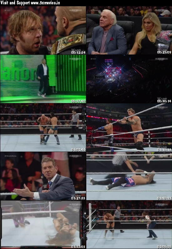 WWE Monday Night Raw 29 Feb 2016 HDTV 480p