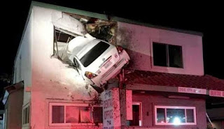 car,crashed,into,building,first,floor,accident
