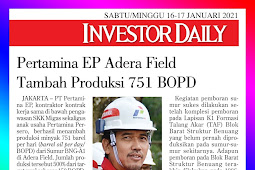 Pertamina EP Adera Field Adds Production 751 BOPD