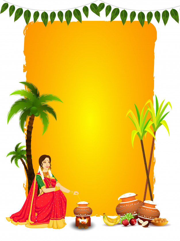 Indain Amazing Festival Happy Pongal  Card