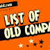 List of PTV Old Compares