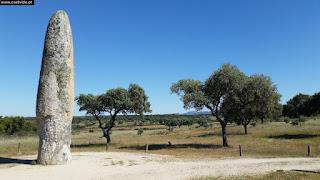 MENHIR / Menir da Meada (Nacional Monument), Castelo de Vide, Portugal