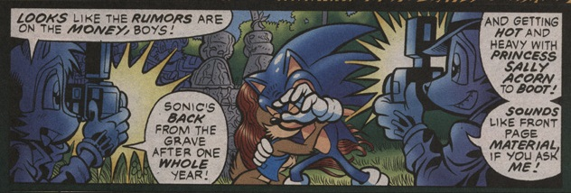 Hedgehogs Can T Swim Sonic The Hedgehog Issue 130