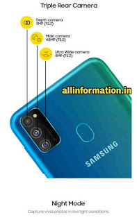 Samsung Galaxy M30s Price and full specification in Hindi