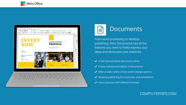أفضل 15 تطبيق مجاني بمتجر مايكروسوفت لويندوز 10 عالم الكمبيوتر computer-wd cover best microsoft store apps for windows nitro Office