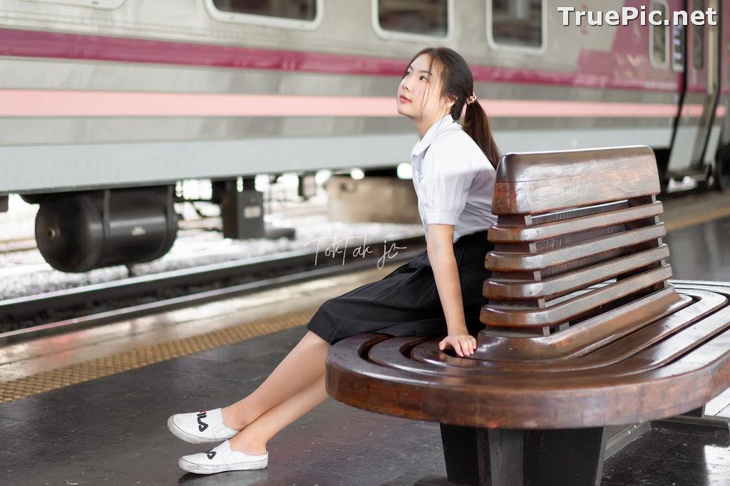 Image Thailand Model - Kornrawee Chokejindachai - Cute Student Girl - TruePic.net - Picture-3