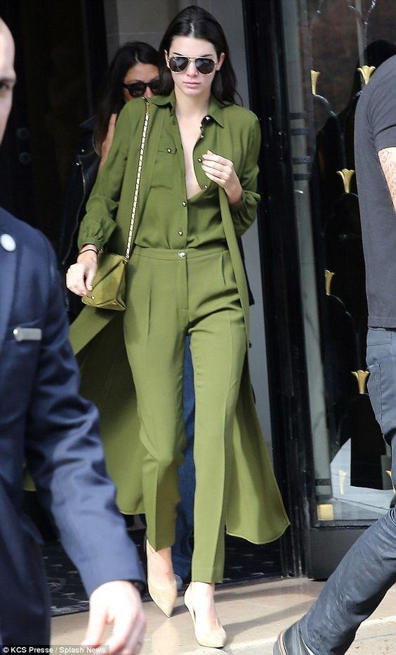 Looks monocromáticos verde
