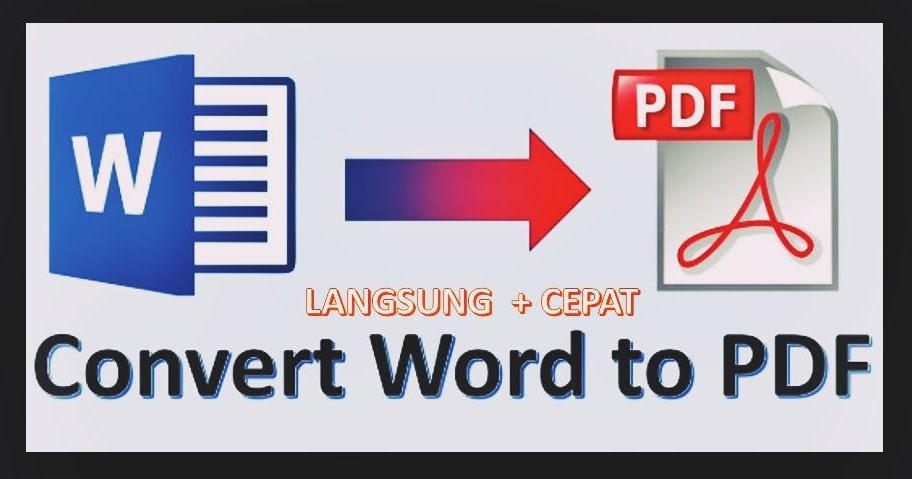 Pengertian, Fungsi PDF dan cara gampang convert dari ms ...