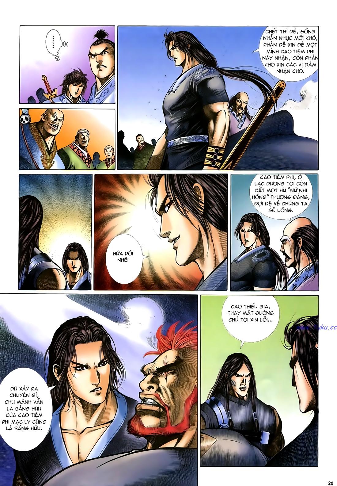 Anh hùng vô lệ Chap 24 trang 21