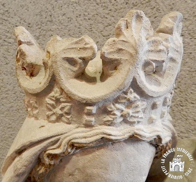 EPINAL (88) - Musée d'art : Vierge à l'Enfant de Gerbonvaux (XVe siècle)