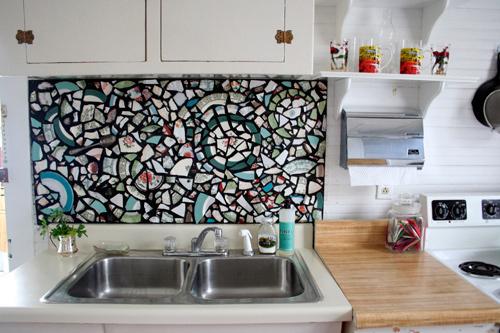 die wohngalerie den polterabend sinnvoll nutzen mosaik erstellen. Black Bedroom Furniture Sets. Home Design Ideas