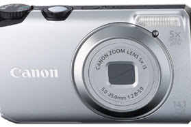 Canon PowerShot A3200 IS Driver Download Windows, Mac