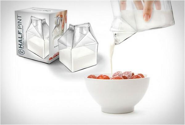 creative milk pot