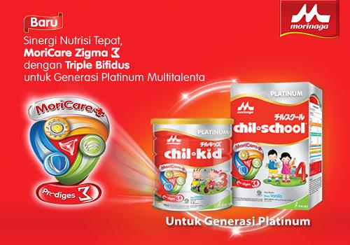 Morinaga Platinum Untuk Nutrisi Anak
