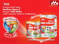Morinaga Platinum Pilihan Terbaik untuk Nutrisi Anak