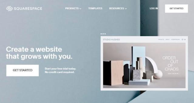 squarespace best website builder