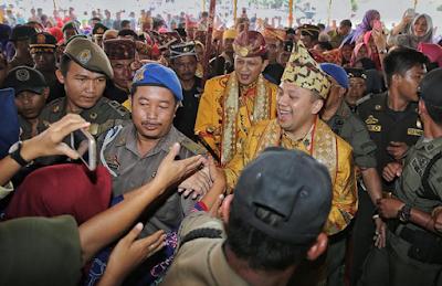 Warga Pesisir Barat Mendukung Gubernur Ridho Untuk Terus Memimpin Lampung