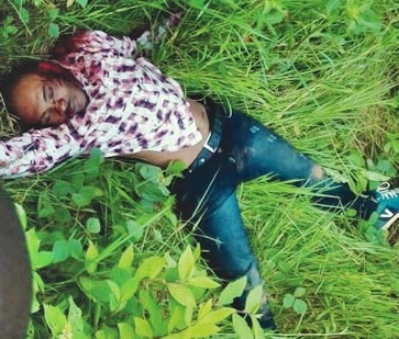 Suspected Cultists Kill Kwara Poly Student, Dumps His Corpse to a Roadside Bush (Photo)