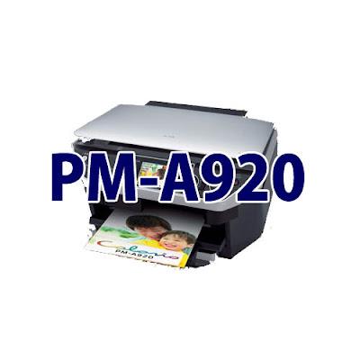 Epson Colorio PM-A920ドライバーダウンロード