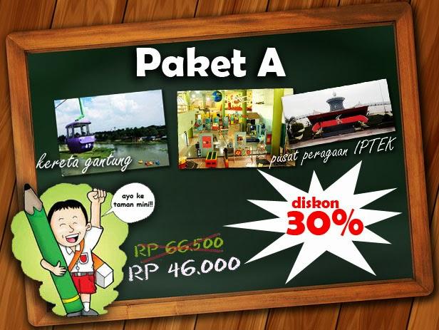 Paket Pelajar Reservasi Taman Mini Indonesia Indah
