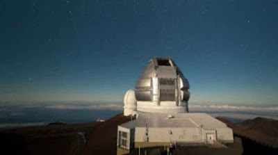 Gemini South Observatory, Chile.