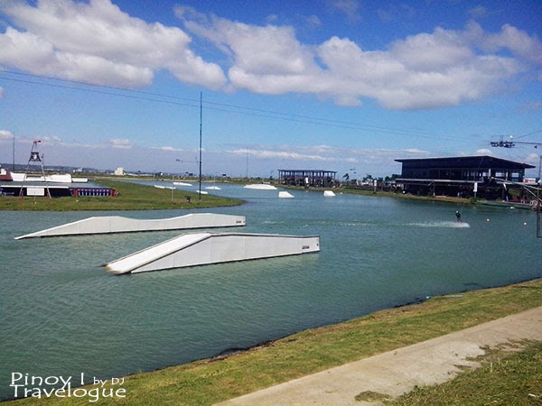 Arena for experienced wakeboarders