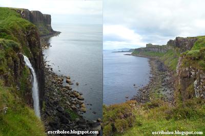 Viaje a Escocia día 5 La cascada que da al mar y Kilt rocks