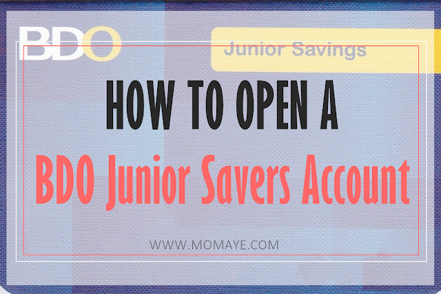 BDO, BDO Junior Savers account, Matthew, savings, kids, saving money,