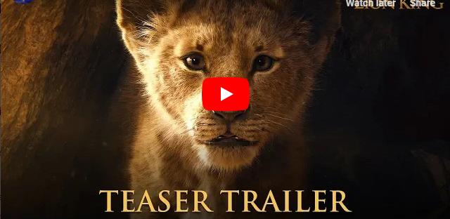 The Lion King Official Teaser Trailer - Walt Disney Studio