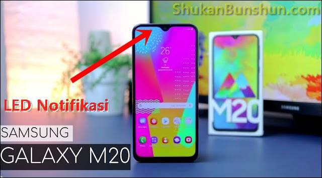 Samsung Galaxy M20 LED Notifikasi Mengaktifkan.jpg