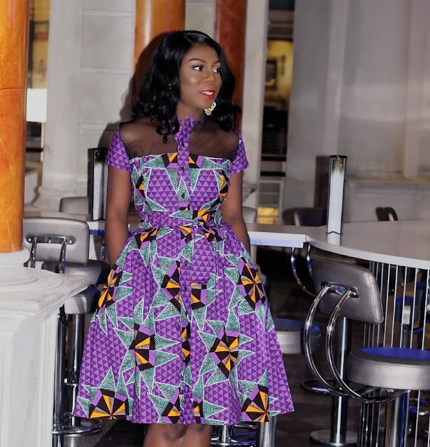 Pretty and Stunning Ankara Short Gown Styles 2019