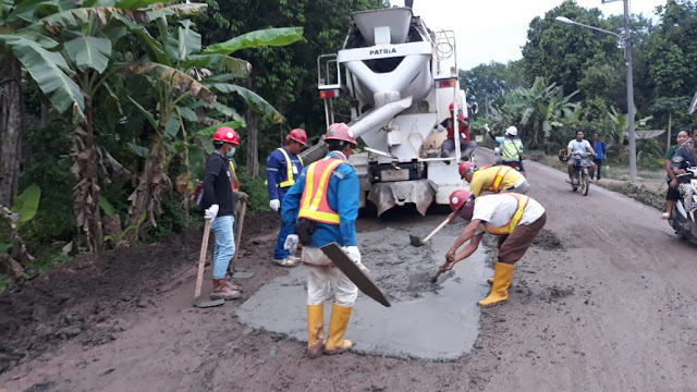Waskita Perbaiki Jalur SP Padang-Palembang