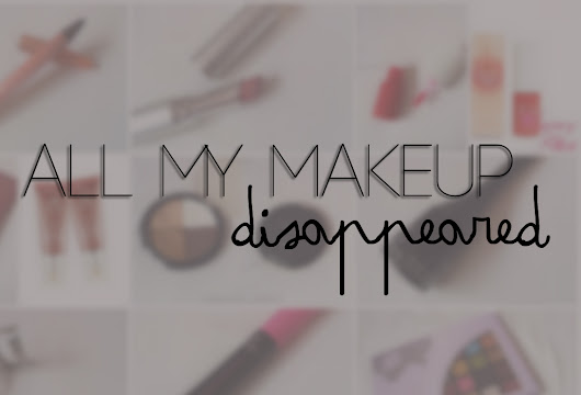 If All My Makeup Disappeared Tag