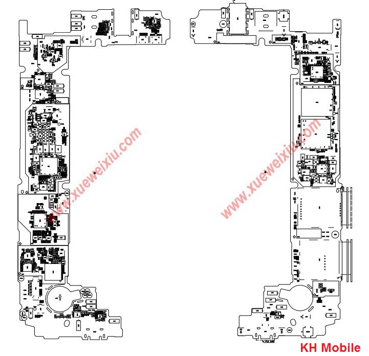Schematic Diagram Huawei P8 Lite