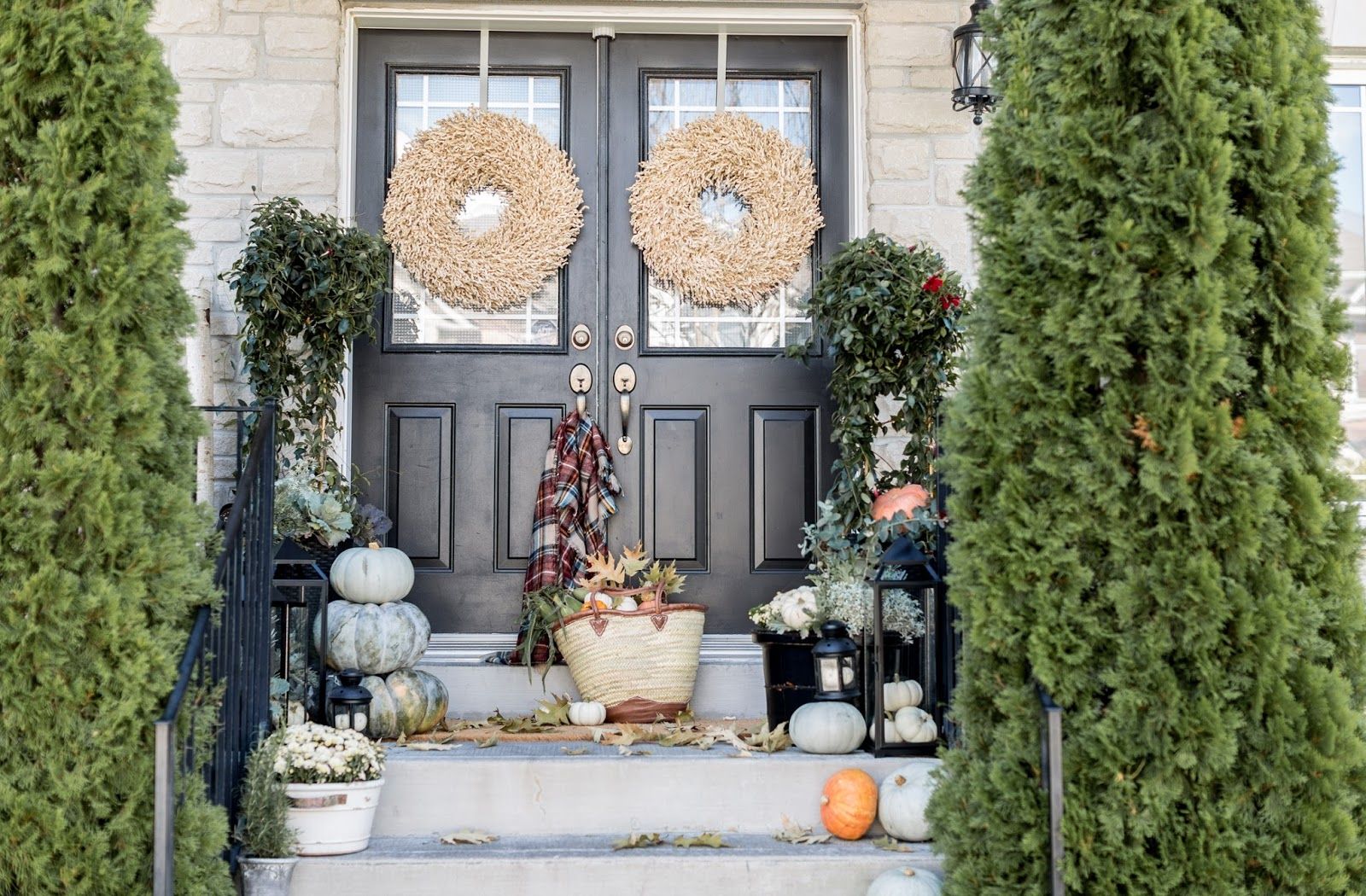 100 decorating porch for fall fall porch decorating ideas t