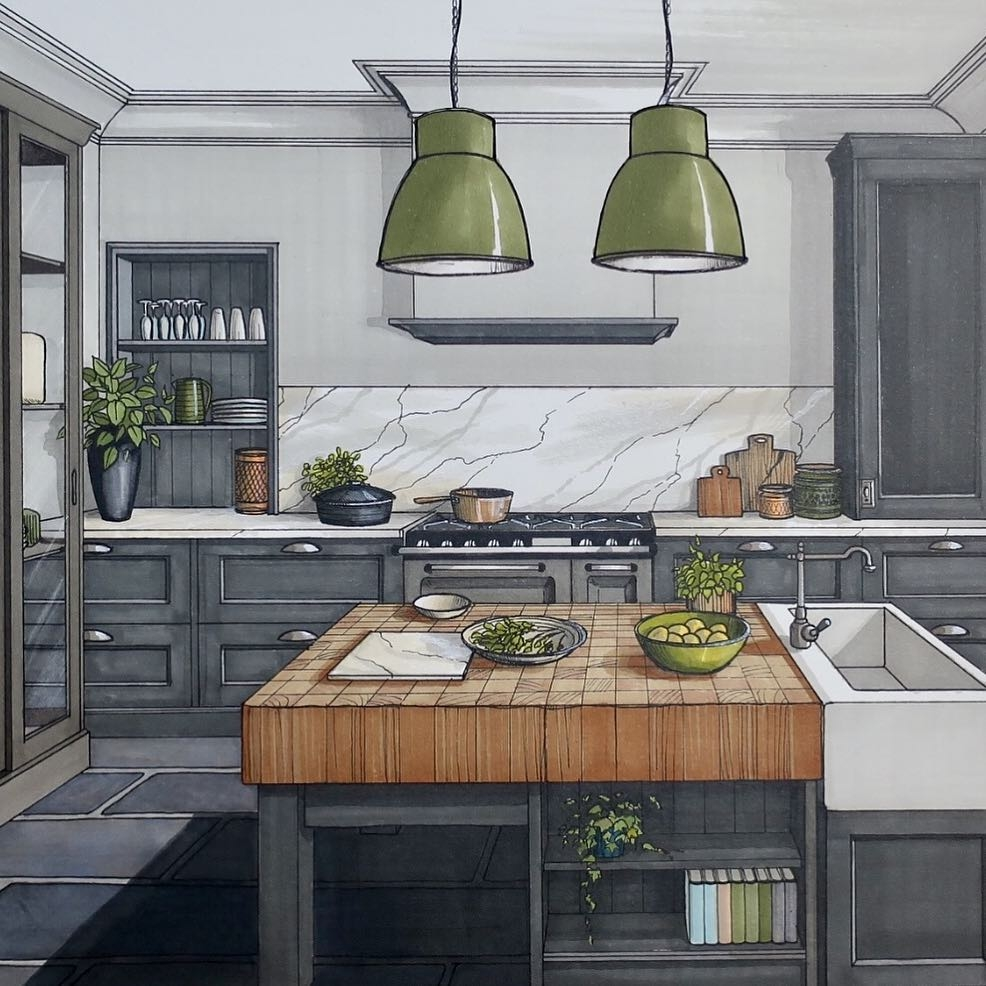 06-Kitchen-Detail-Malcolm-Begg-Interior-Design-Drawings-of-a-Victorian-House-www-designstack-co